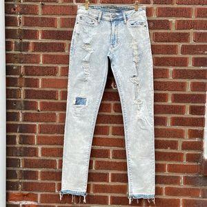 American Eagle Slim Distressed Men's Skinny Jeans